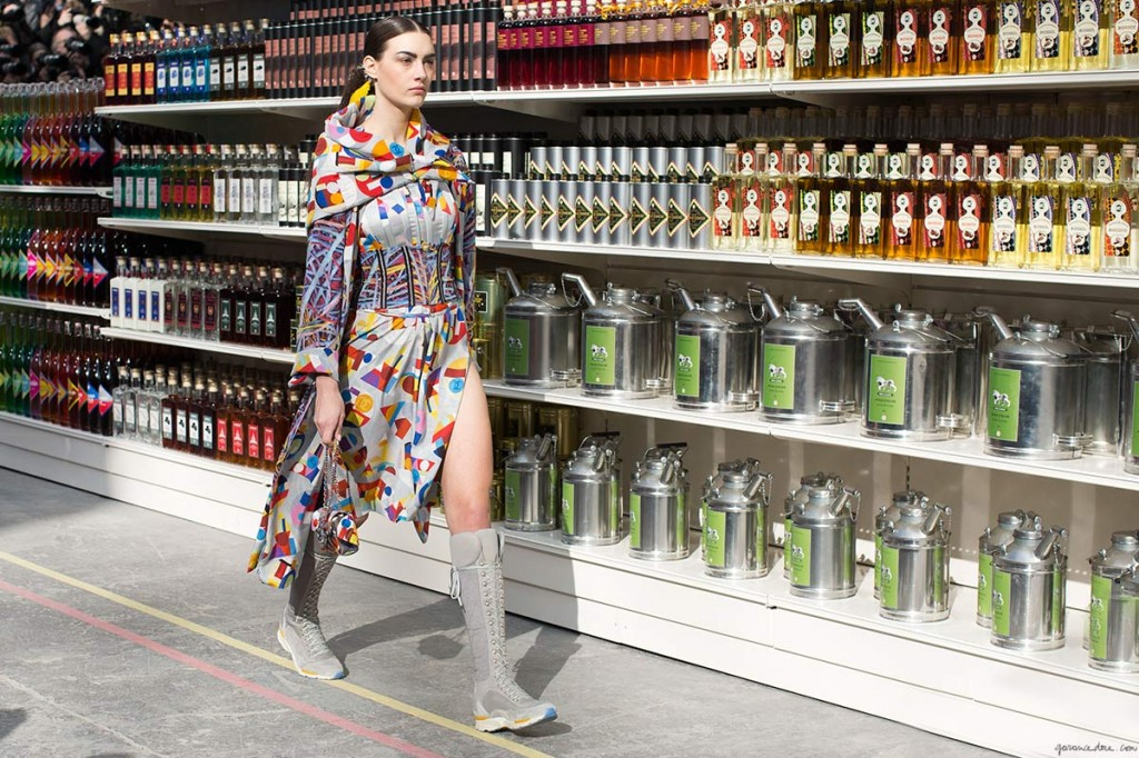 visual merchandising στο φόντο-chanel fall/winter 2014