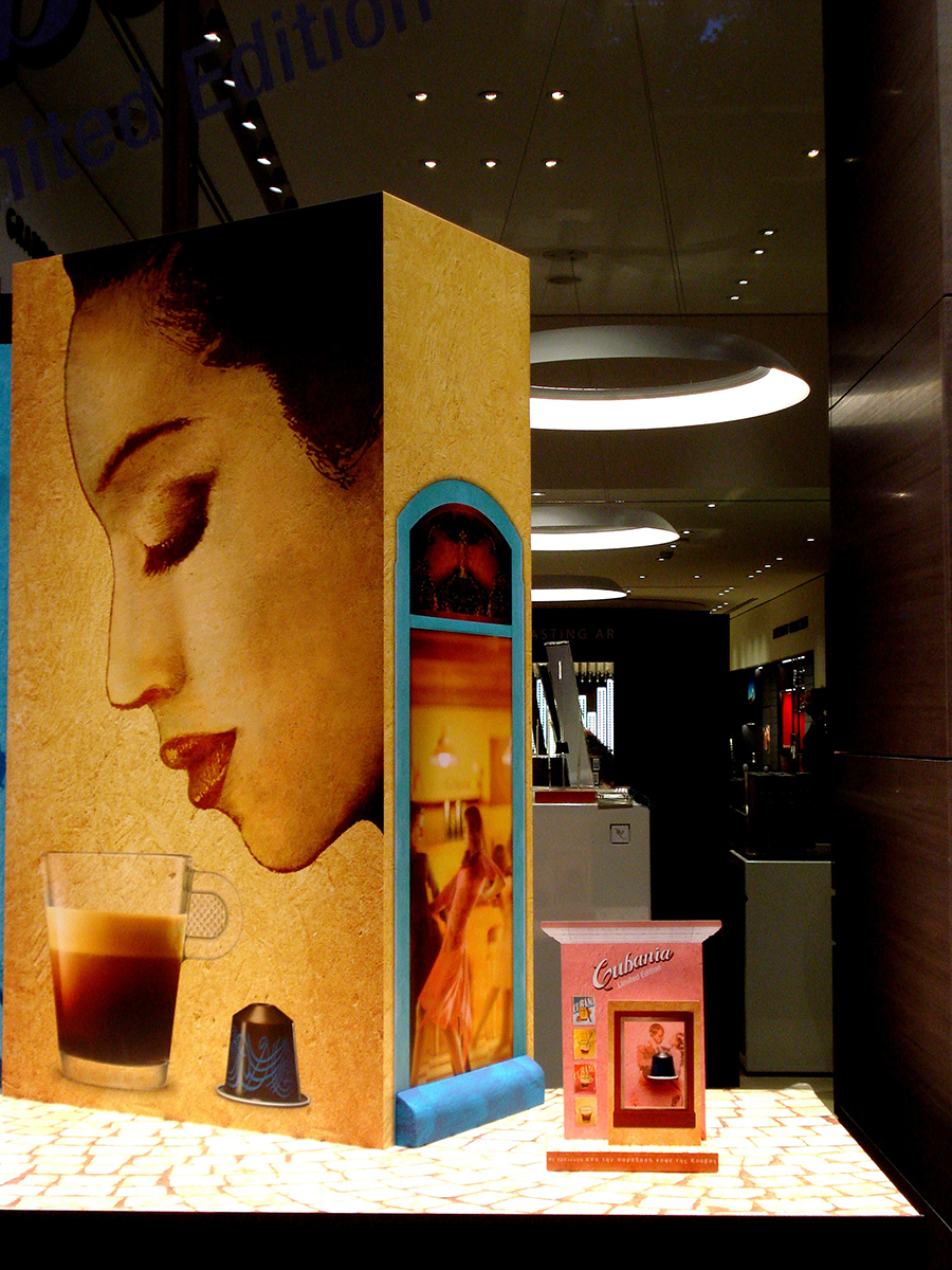 nespresso-kolonaki-athens-window display