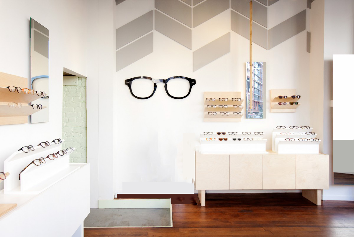 bailey nelson, vancouver-sunglasses instore display