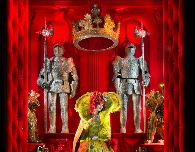 An introduction to Christmas brilliance. Bergdorf Goodman windows, Nov.2015