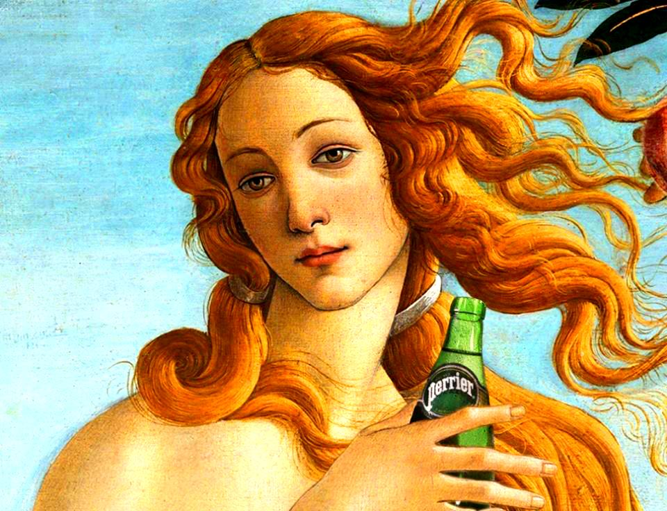 Do it like the old Masters - Perrier