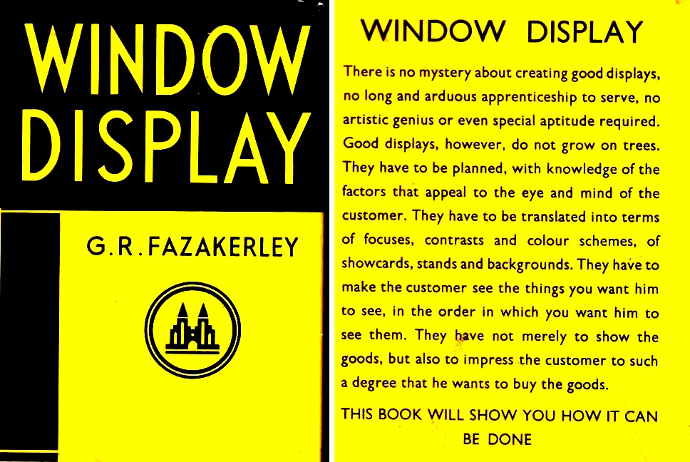 Window Display by G.R.Fazakerley - 1957